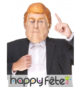 Masque de Donald Trump humoristique
