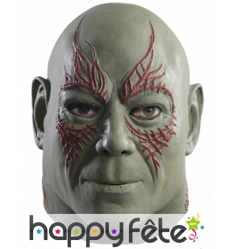 Masque de Drax le destructeur intégral homme luxe