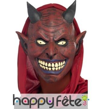 Masque du diable en latex