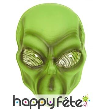 Masque d'extra-terrestre pour adulte
