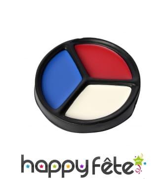 Maquillage drapeau Français