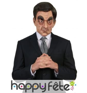 Masque de François Fillon intégral et humoristique