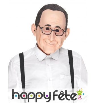Masque de François Holland humoristique