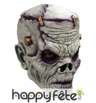 Masque de Frankenstein zombie intégral