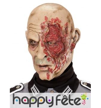 Masque de général zombie défiguré
