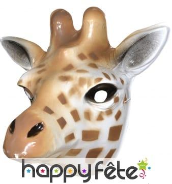 Masque de girafe pour adulte