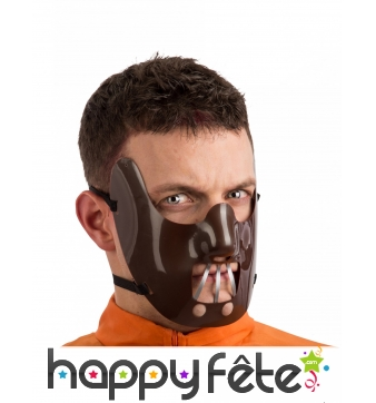Masque d'Hannibal lecter pour adulte