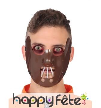 Masque de Hannibal lecter pour adulte