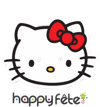 Masque de Hello Kitty en carton