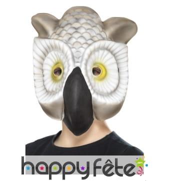 Masque de hibou en eva pour enfant