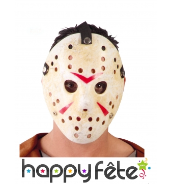 Masque de hockey Jason, pour adulte