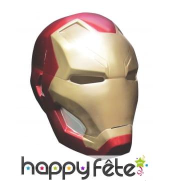 Masque de Iron man intégral pour adulte,Civil War