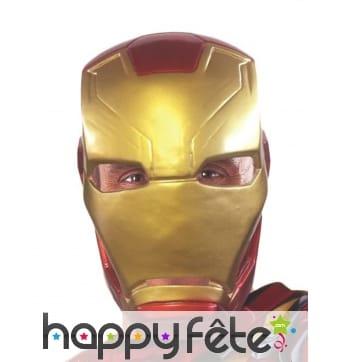 Masque de Iron Man pour adulte, Civil War
