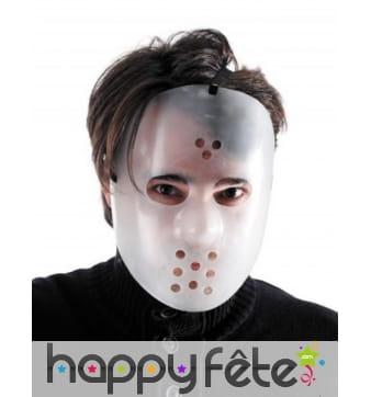Masque de Jason Halloween pour adulte