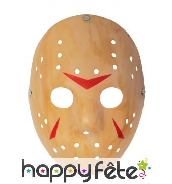 Masque de Jason pour adulte en plastique