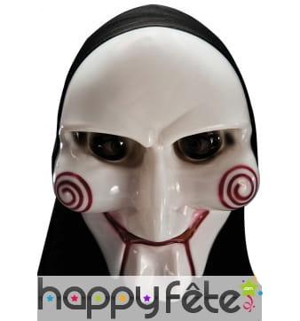 Masque de Jigsaw avec capuche