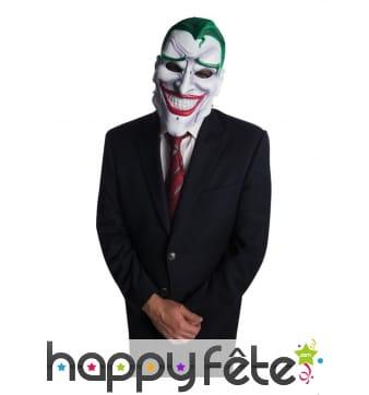 Masque de Joker articulé pour adulte, luxe