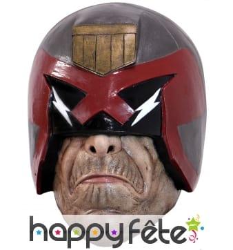 Masque de Judge Dredd intégral