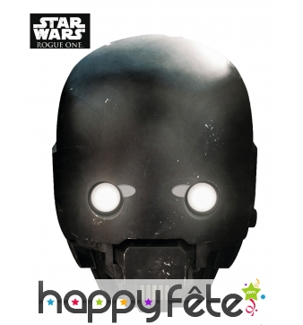 Masque de K-2SO en carton, Star Wars Rogue One
