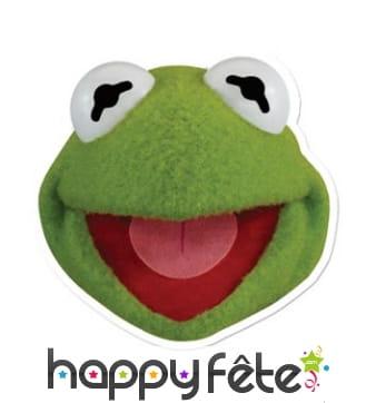 Masque de Kermit la grenouille