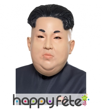 Masque de kim jong un en latex
