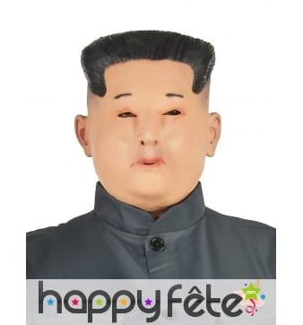 Masque de Kim Jong Un intégral pour adulte