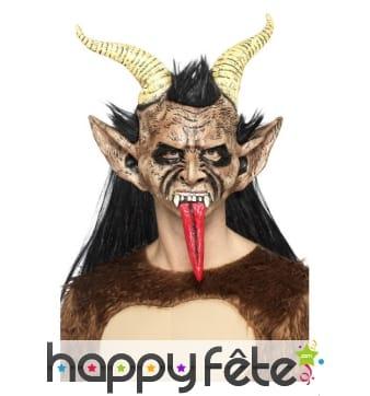 Masque de Krampus, le démon