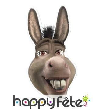 Masque de l'âne de Shrek, en carton