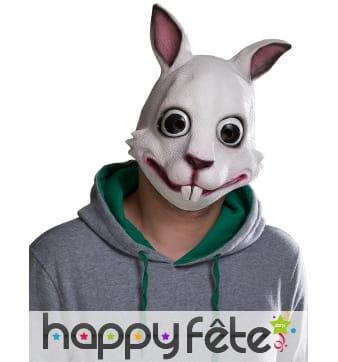 Masque de lapin avec petites oreilles