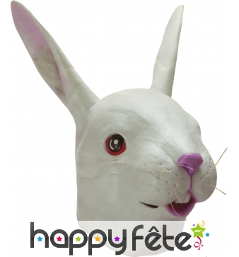 Masque de lapin complet