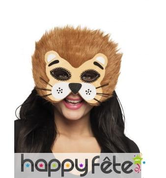 Masque de lion pour adule, facial