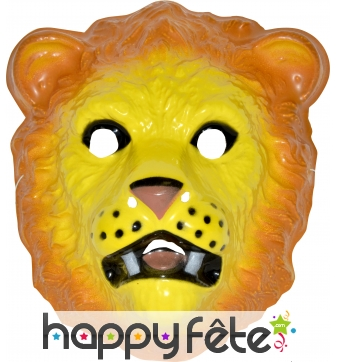 Masque de lion pour enfant