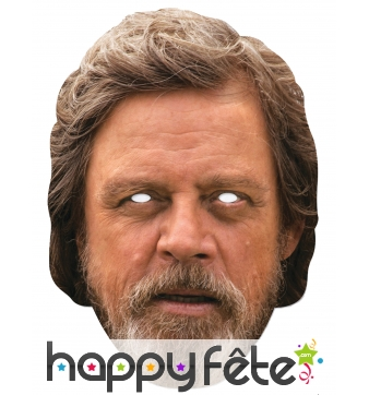 Masque de Luke Skywalker en carton plat