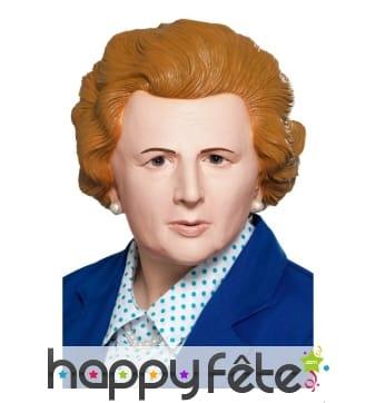 Masque de Margaret Thatcher intégral