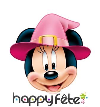 Masque de minnie mouse sorcière
