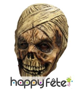 Masque de momie squelette intégral