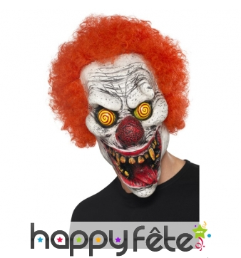 Masque de monstre clown fou