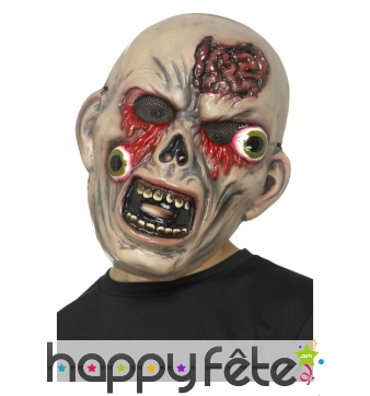 Masque de monstre désorbité pour enfant