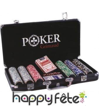 Malette de poker Grimaud
