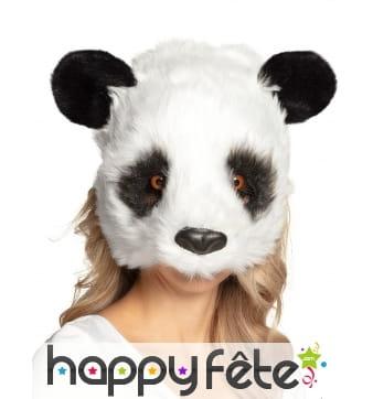 Masque de panda pour adulte, facial