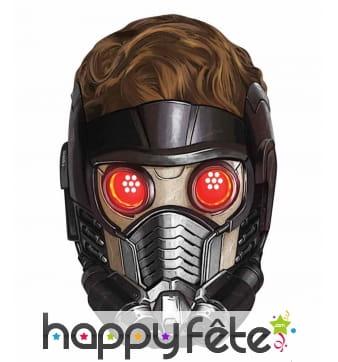 Masque de Peter Quill en carton