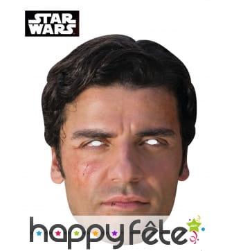 Masque de Poe en carton, Star Wars 7