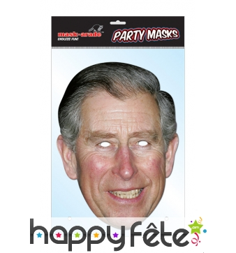 Masque du Prince Charles, en carton