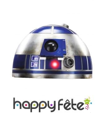 Masque de R2-D2 en carton