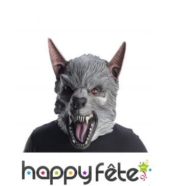 Masque de Ralph Rampage intégral en latex, adulte