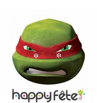 Masque de Raphael des tortues Ninja, carton