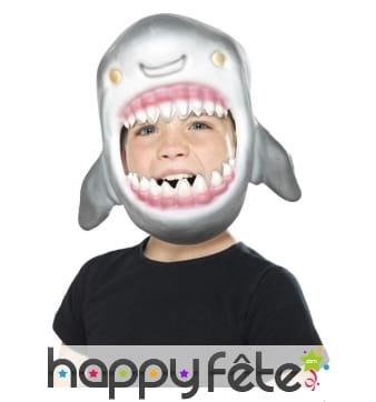 Masque de requin intégral pour enfant