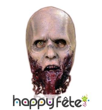 Masque de rôdeur zombie déchiqueté