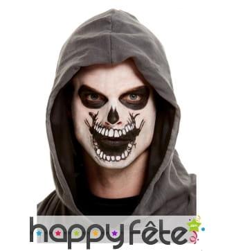 Maquillage de squelette par transfert pour adulte