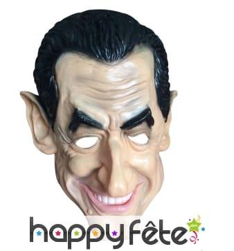 Masque de Sarkozy intégral